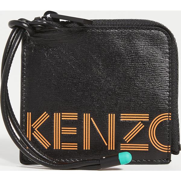 (取寄)ケンゾー エル ジップ ウォレット KENZO L Zip Wallet Black