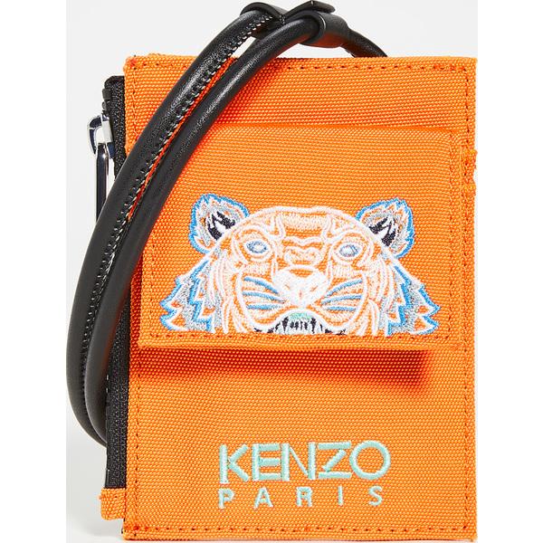 (取寄)ケンゾー カードホルダー オン ストラップ KENZO Cardholder On Strap MediumOrange