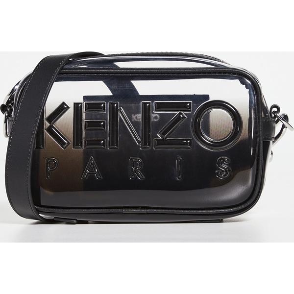 (取寄)ケンゾー TPU プリンテッド クロスボディ バッグ KENZO TPU Printed Crossbody Bag Black