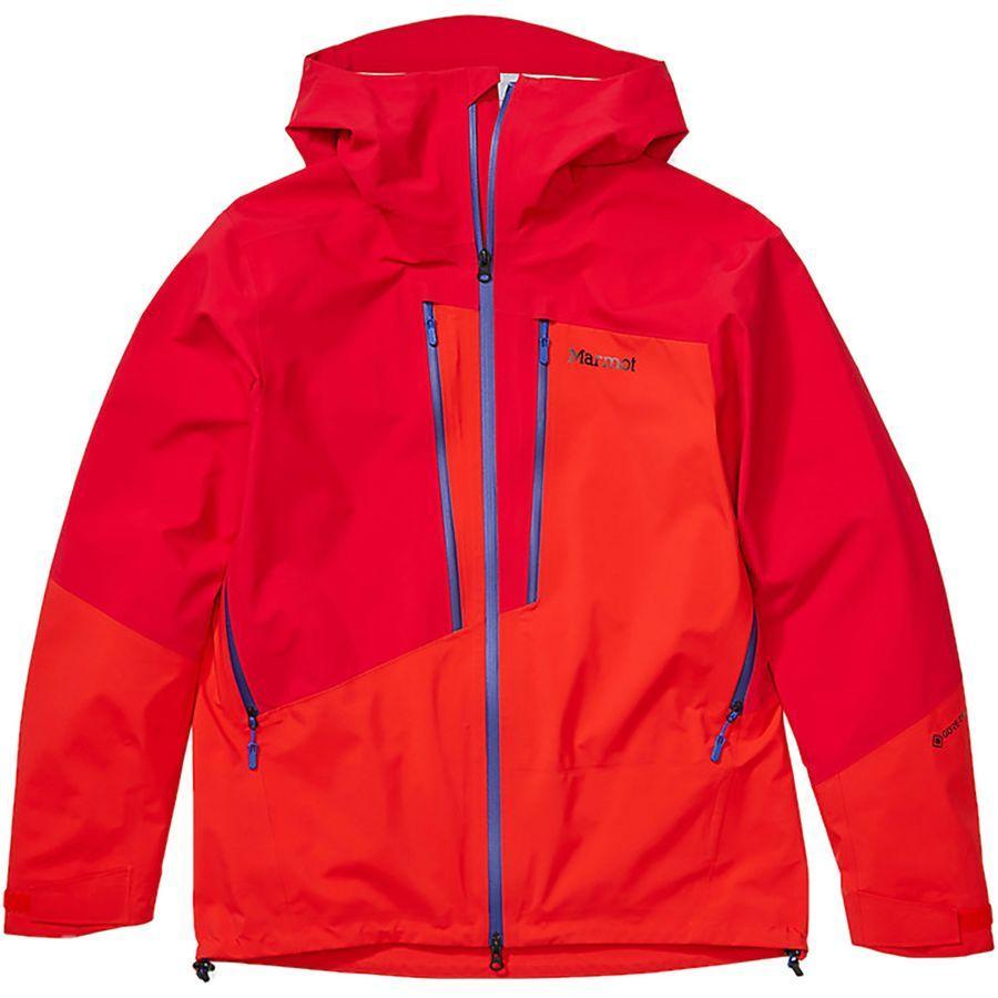 【エントリーでポイント10倍】(取寄)マーモット メンズ ハントレー ジャケット Marmot Men's Huntley Jacket Team Red/Victory Red