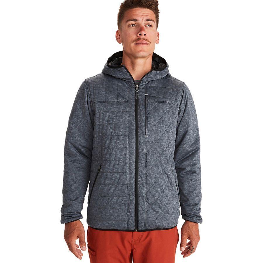 (取寄)マーモット メンズ マイカ ビュー インサレーテッド フーデッド ジャケット Marmot Men's Mica View Insulated Hooded Jacket Black