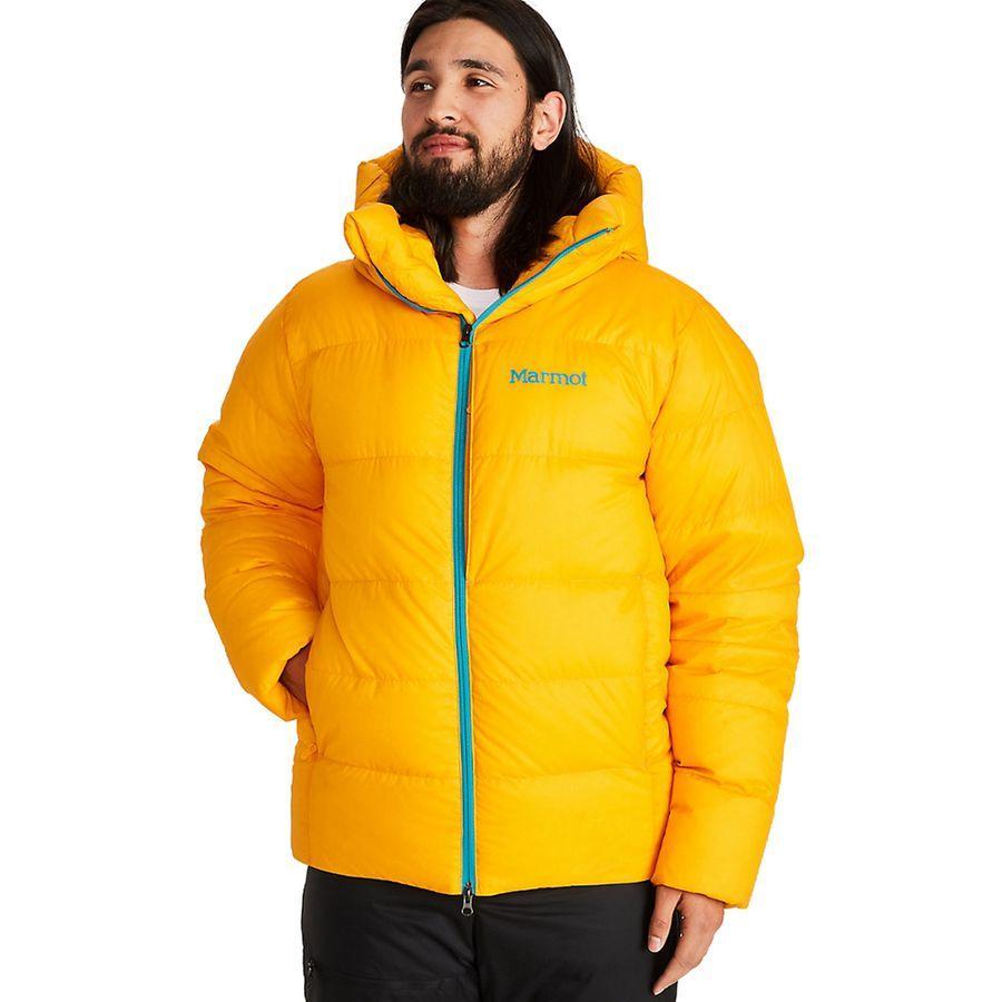 【エントリーでポイント10倍】(取寄)マーモット メンズ マウント ティンダル フーデッド ジャケット Marmot Men's Mt. Tyndall Hooded Jacket Solar