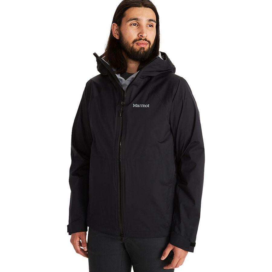 (取寄)マーモット メンズ PreCip ストレッチ ジャケット Marmot Men's PreCip Stretch Jacket Black