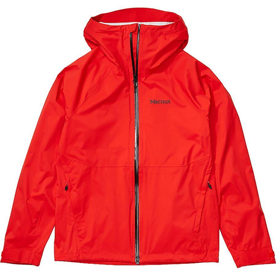 (取寄)マーモット メンズ PreCip ストレッチ ジャケット Marmot Men's PreCip Stretch Jacket Victory Red