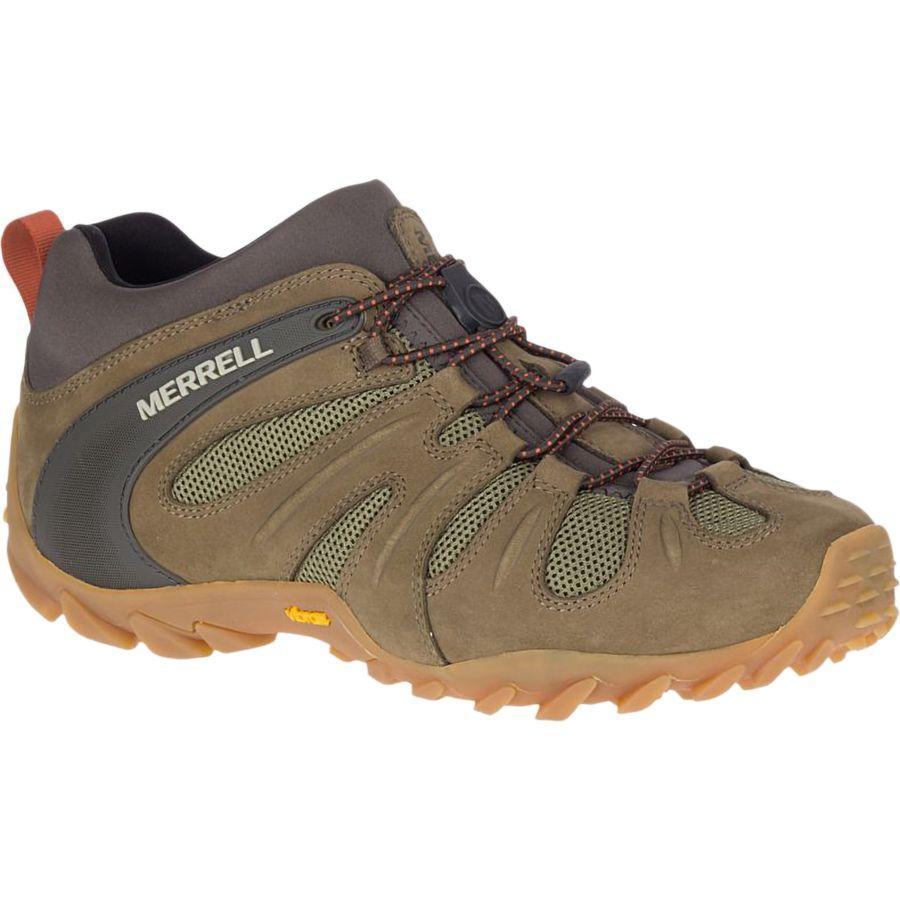 (取寄)メレル メンズ カメレオン 8ストレッチ ハイキング シューズ Merrell Men's Chameleon 8 Stretch Hiking Shoe Olive