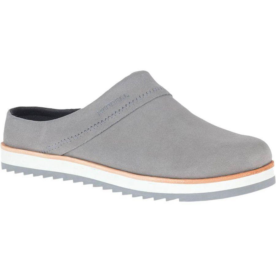 (取寄)メレル レディース ジュノ クロッグ シューズ クロック Merrell Women Juno Suede Shoe Clog Charcoal