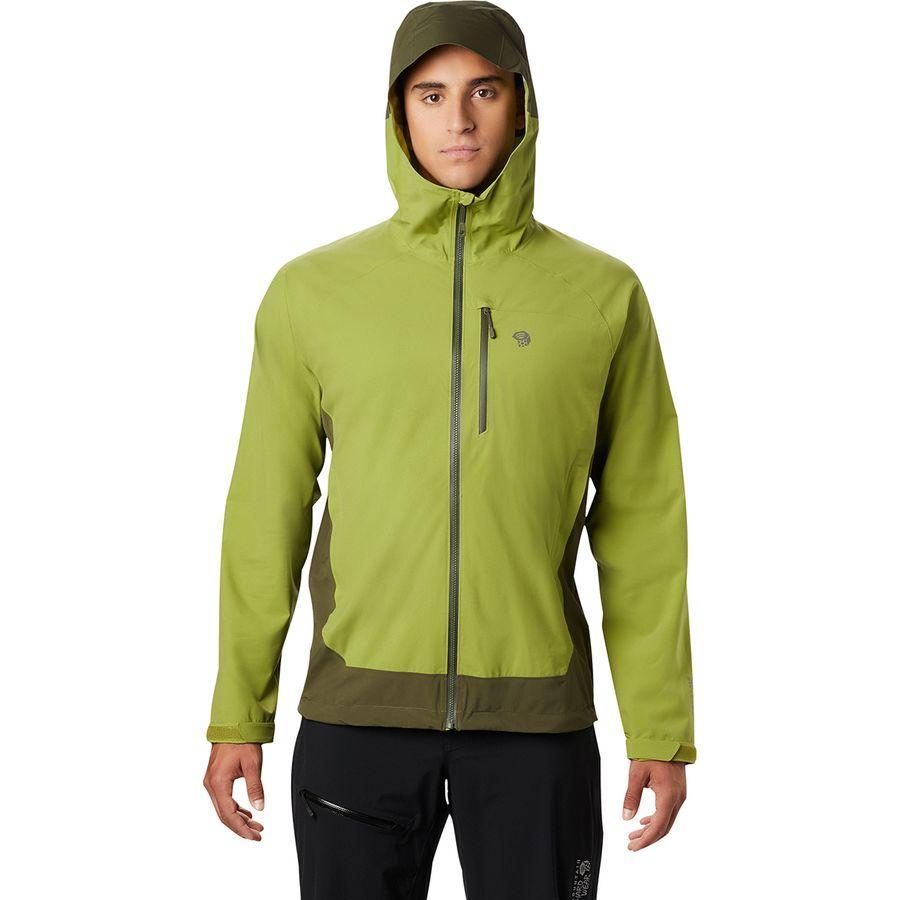 (取寄)マウンテンハードウェア メンズ ストレッチ オゾニック ジャケット Mountain Hardwear Men's Stretch Ozonic Jacket Just Green