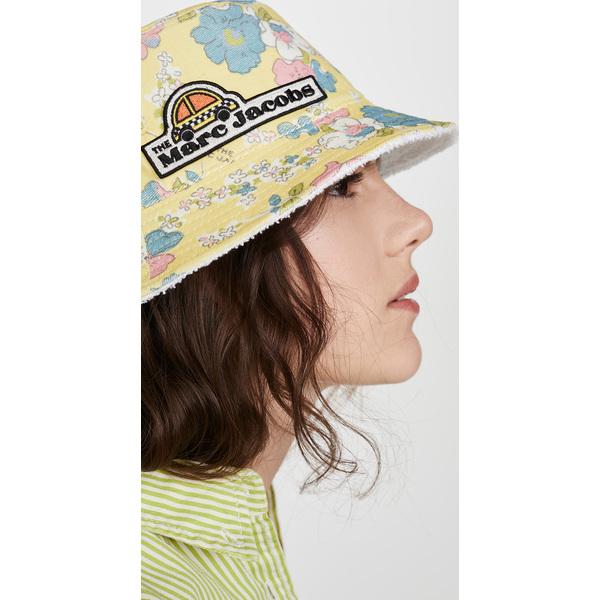 (取寄)マークジェイコブス ザ バケット ハット The Marc Jacobs The Bucket Hat YellowMulti
