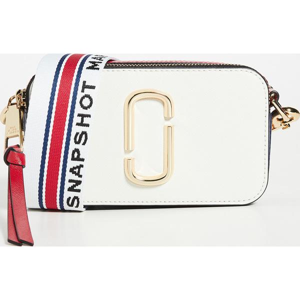 (取寄)マークジェイコブス スナップショット クロスボディ バッグ The Marc Jacobs Snapshot Crossbody Bag NewCoconutMulti