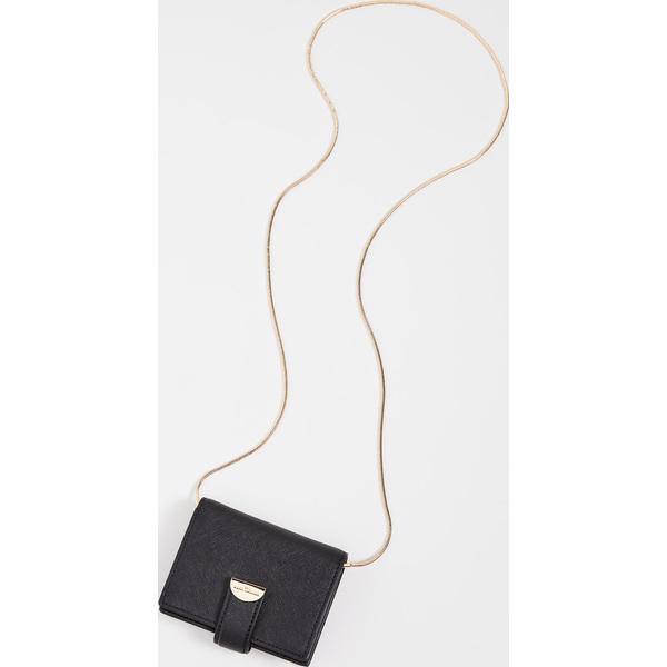 (取寄)マークジェイコブス ハーフ ムーン カード ケース ウィズ チェイン The Marc Jacobs Half Moon Card Case with Chain Black
