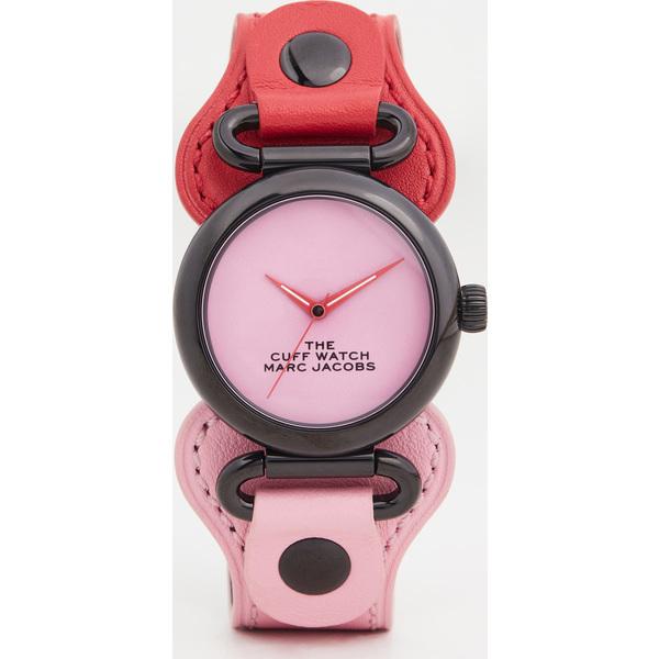 (取寄)マークジェイコブス ザ カフ ウォッチ 32mm The Marc Jacobs The Cuff Watch 32mm HotPink Black
