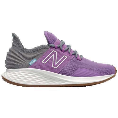 (取寄)ニューバランス レディース フレッシュ フォーム ローブ New Balance Women's Fresh Foam Roav Neo Violet Light Aluminum