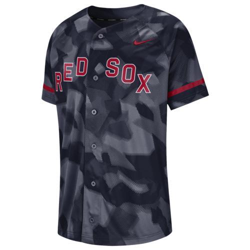 (取寄)ナイキ メンズ MLB フル バトン ジャージー コロラド ロッキーズ Nike Men's MLB Full Button Jersey コロラド ロッキーズ College Navy Camo