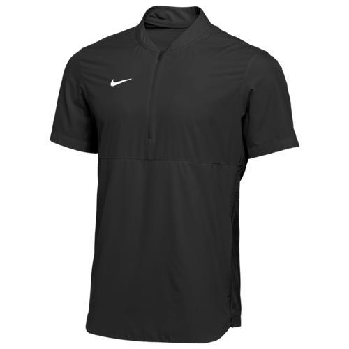 (取寄)ナイキ メンズ チーム オーセンティック シールド ライトウェイト ジャケット Nike Men's Team Authentic Shield Lightweight Jacket Black White N A