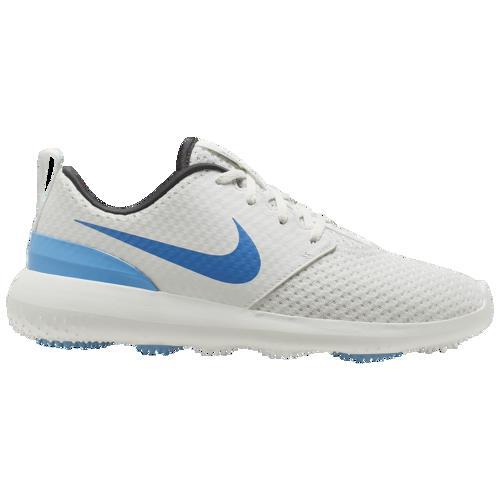 (取寄)ナイキ メンズ ローシ G ゴルフ シュー Nike Men's Roshe G Golf Shoe Summit White University Blue Anthracite