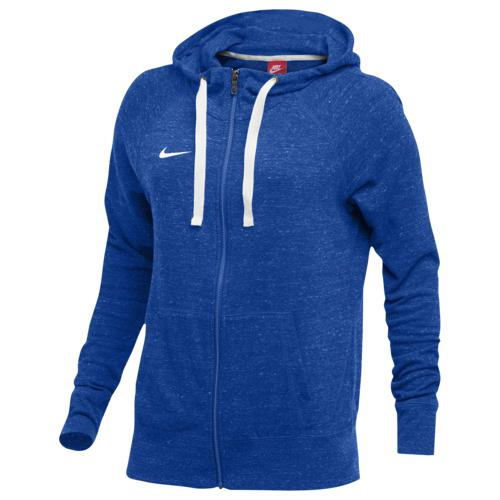 (取寄)ナイキ レディース W NK ジム VNTG フーディ FZ Nike Women's W NK GYM VNTG HOODIE FZ Royal Sail