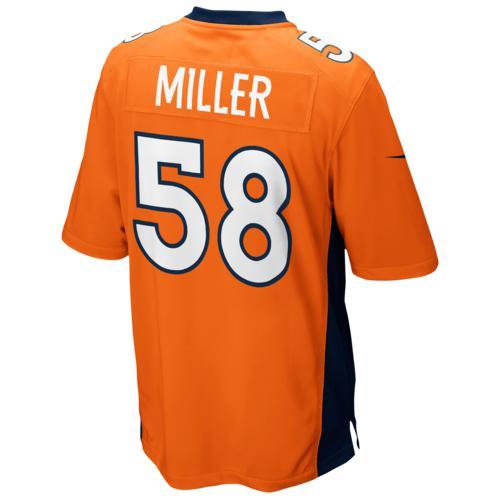 (取寄)ナイキ メンズ NFL ゲーム デイ ジャージー デンバー ブロンコス Nike Men's NFL Game Day Jersey デンバー ブロンコス Brilliant Orange