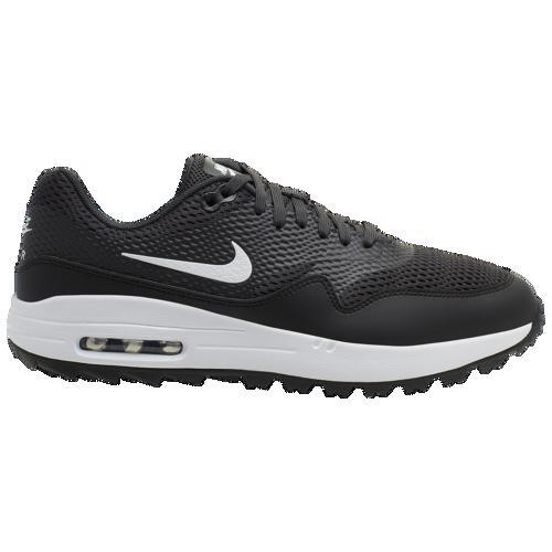 【マラソン ポイント10倍】(取寄)ナイキ メンズ エア マックス 1 G ゴルフ シュー Nike Men's Air Max 1 G Golf Shoe Black White Anthracite