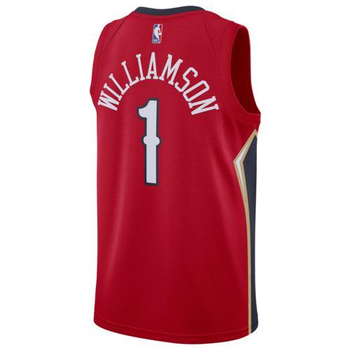 (取寄)ナイキ メンズ NBA スウィングマン ジャージー ニュー オーランド ペリカンズ Nike Men's NBA Swingman Jersey ニュー オーランド ペリカンズ Univeristy Red