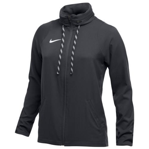 (取寄)ナイキ レディース チーム ドライ ジャケット Nike Women's Team Dry Jacket Anthracite White