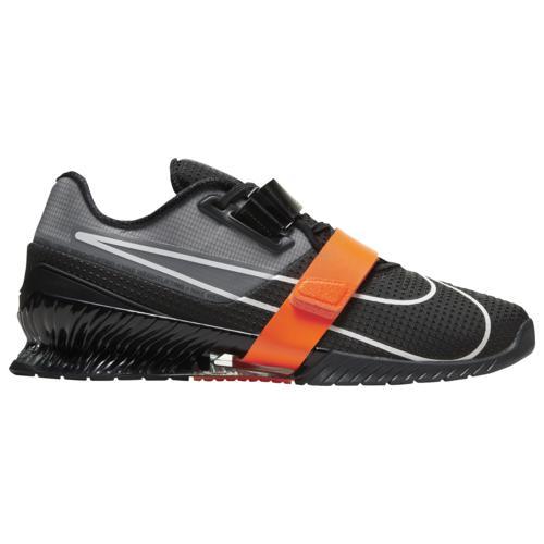 (取寄)ナイキ メンズ シューズ ロマレオス 4 Nike Men's Shoes Romaleos 4 Anthracite White Total Orange Black
