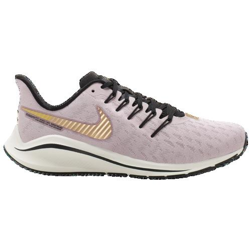 (取寄)ナイキ レディース エア ズーム ボメロ 14 Nike Women's Air Zoom Vomero 14 Plum Chalk Metallic Gold Infinite Gold