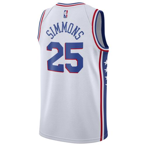 (取寄)ナイキ メンズ NBA スウィングマン ジャージー フィラデルフィア セブンティシクサーズ Nike Men's NBA Swingman Jersey フィラデルフィア セブンティシクサーズ White