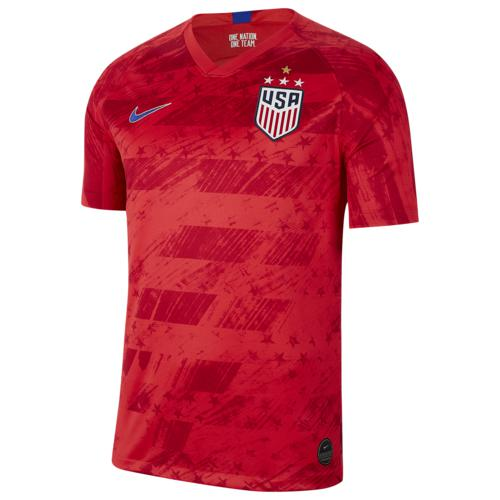 (取寄)ナイキ メンズ フォー スター ブリーズ スタジアム ジャージー Nike Men's Four Star Breathe Stadium Jersey Speed Red Bright Blue