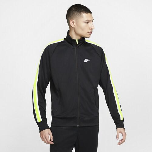 (取寄)ナイキ メンズ N98 トリビュート ジャケット Nike Men's N98 Tribute Jacket Black Volt