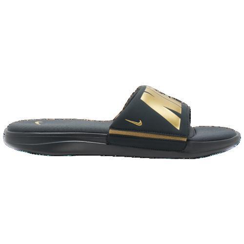 (取寄)ナイキ メンズ ウルトラ コンフォート 3 スライド Nike Men's Ultra Comfort 3 Slide Seaweed Metallic Gold Seaweed