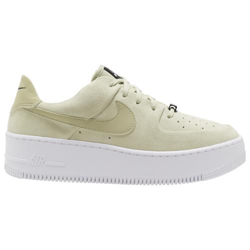 (取寄)ナイキ レディース シューズ エア フォース 1 セージ ロー Nike Women's Shoes Air Force 1 Sage Low Olive Aura Olive Aura White