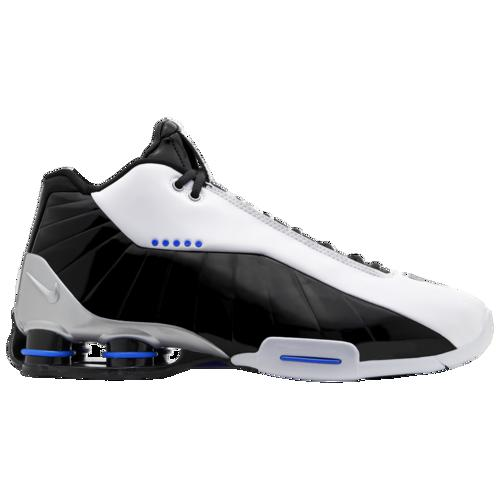 (取寄)ナイキ メンズ ショックス BB4 Nike Men's Shox BB4 White Black Racer Blue Metallic Silver