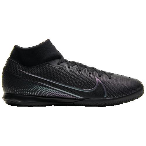(取寄)ナイキ メンズ マーキュリアル スーパーフライ 7 アカデミー ic Nike Men's Mercurial Superfly 7 Academy IC Black Black