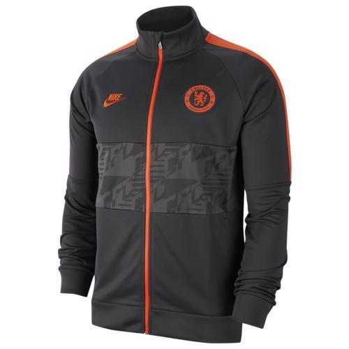 (取寄)ナイキ メンズ サッカー I96 ジャケット Nike Men's Soccer I96 Jacket Anthracite Anthracite Rush Orange