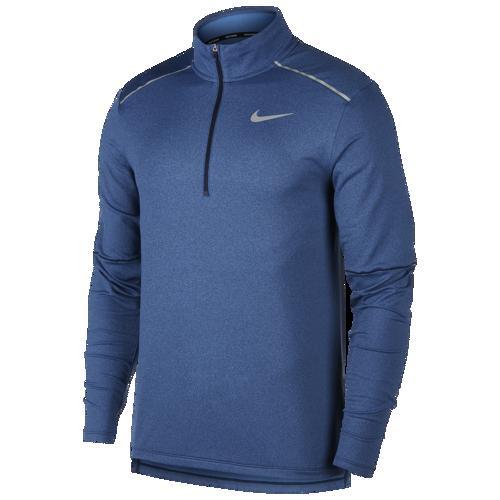 (取寄)ナイキ メンズ エレメント 1/2 ジップ トップ 3.0 Nike Men's Element 1/2 Zip Top 3.0 Obsidian Heather Pacific Blue