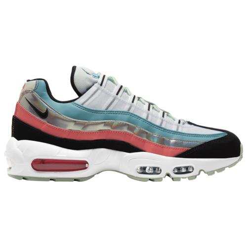 (取寄)ナイキ メンズ シューズ エア マックス 95 Nike Men's Shoes Air Max 95 White Black Cerulean Magic Ember
