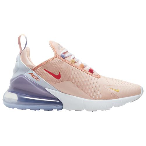 (取寄)ナイキ レディース シューズ エア マックス 270 Nike Women's Shoes Air Max 270 Washed Coral Track Red White Grey Topaz Gold
