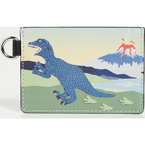 (取寄)ピーエス ポールスミス ディノ プリント カード ホルダー PS Paul Smith Dino Print Card Holder GreenPrint