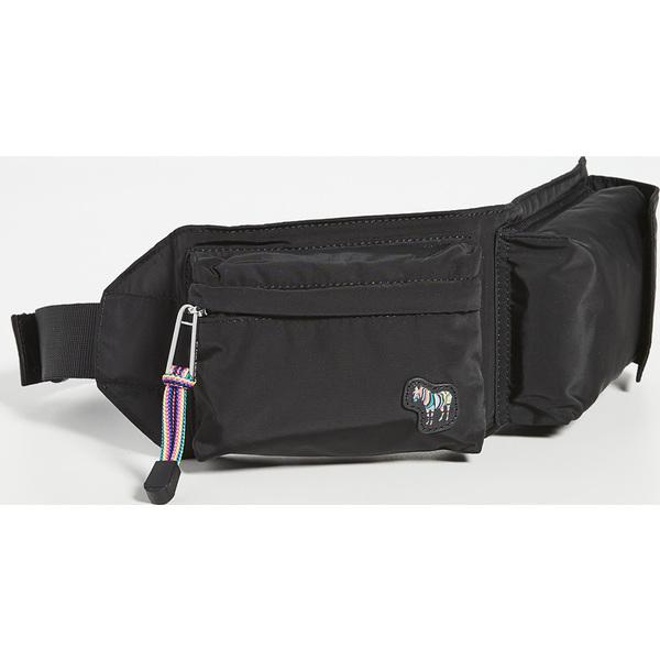 (取寄)ピーエス ポールスミス ベルト バッグ PS Paul Smith Belt Bag Black