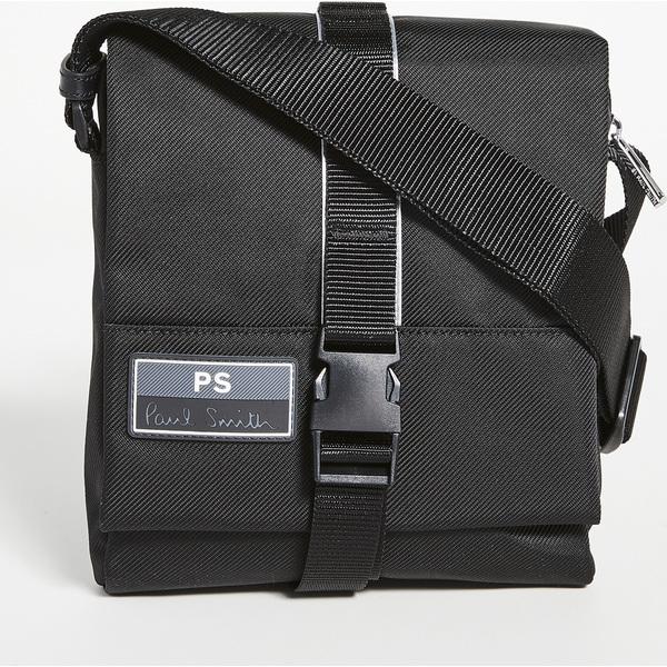 (取寄)ピーエス ポールスミス フライト ユーフォー スリングパック バッグ PS Paul Smith Flight UFO Slingpack Bag Black