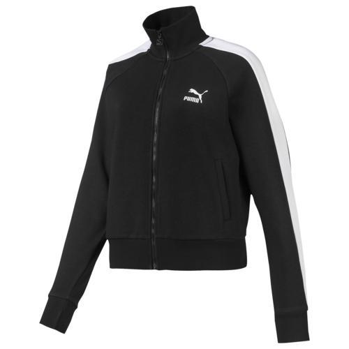 (取寄)プーマ レディース プーマ クラシック T7 トラック ジャケット Women's PUMA Classics T7 Track Jacket Puma Black