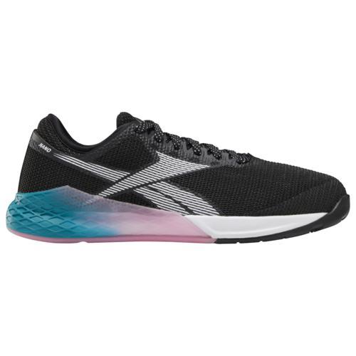 【マラソン ポイント10倍】(取寄)リーボック レディース シューズ クロスフィット ナノ 9.0 Reebok Women's Shoes Crossfit Nano 9.0 Black Seaport Teal Posh Pink