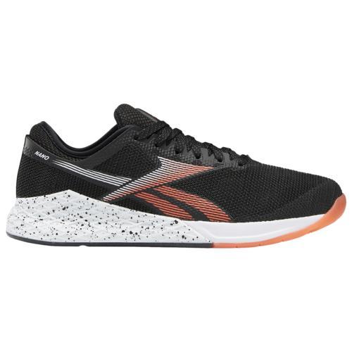 【マラソン ポイント10倍】(取寄)リーボック メンズ シューズ クロスフィット ナノ 9.0 Reebok Men's Shoes Crossfit Nano 9.0 Black White Vivid Orange