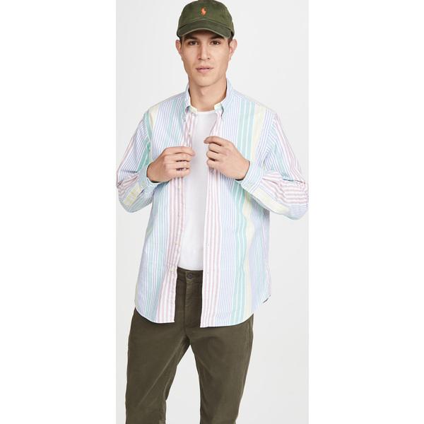 (取寄)ポロ ラルフローレン ロング スリーブ オックスフォード シャツ Polo Ralph Lauren Long Sleeve Oxford Shirt Multi
