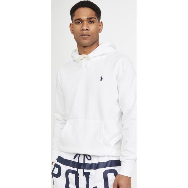 【エントリーでポイント10倍】(取寄)ポロ ラルフローレン ロング スリーブ フリース スウェットシャツ Polo Ralph Lauren Long Sleeve Fleece Sweatshirt White