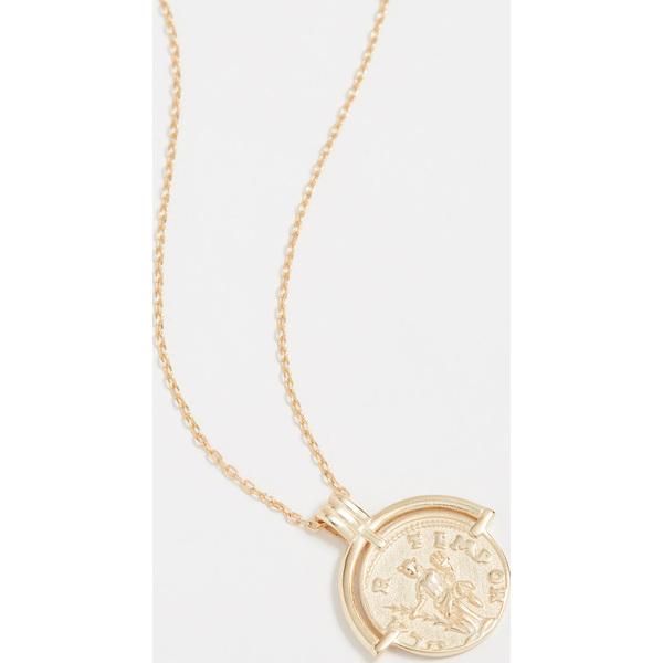 【マラソン ポイント10倍】(取寄)シャシ アーマー ネックレス Shashi Armor Necklace Gold