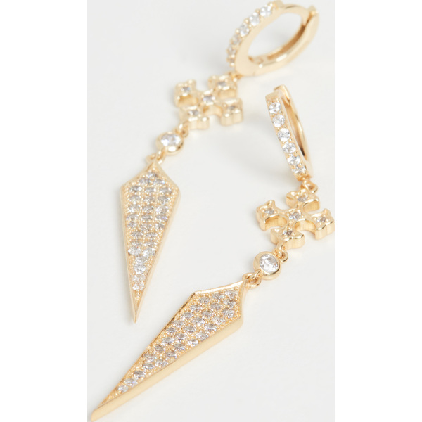 【マラソン ポイント10倍】(取寄)シャシ ギア ピアス Shashi Gia Earrings Gold