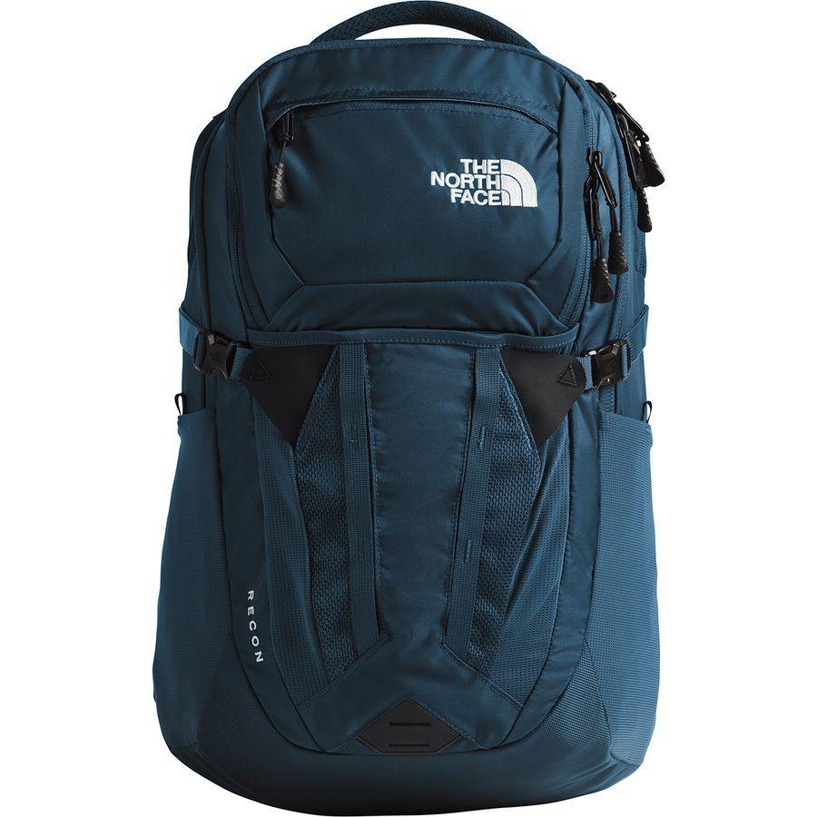 (取寄)ノースフェイス ユニセックス リーコン 30L バックパック The North Face Men's Recon 30L Backpack Blue Wing Teal/Tnf Black