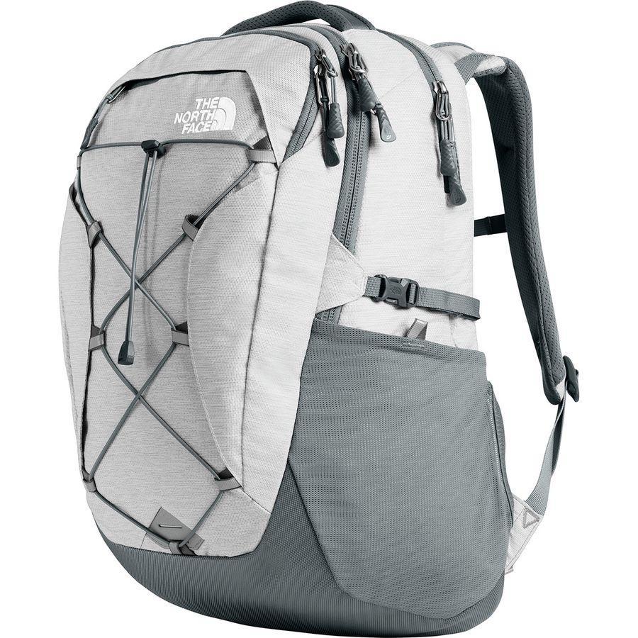 (取寄)ノースフェイス レディース ボレアリス 27L バックパック The North Face Women Borealis 27L Backpack Tnf White Metallic Melange/Mid Grey