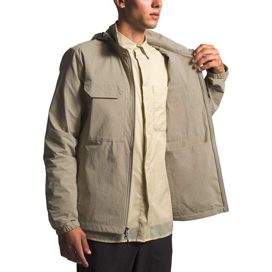 Jacket 【エントリーでポイント10倍】(取寄)ノースフェイス Face ジャケット テメスカル North メンズ トラベル Travel The Twill Men's Beige Temescal